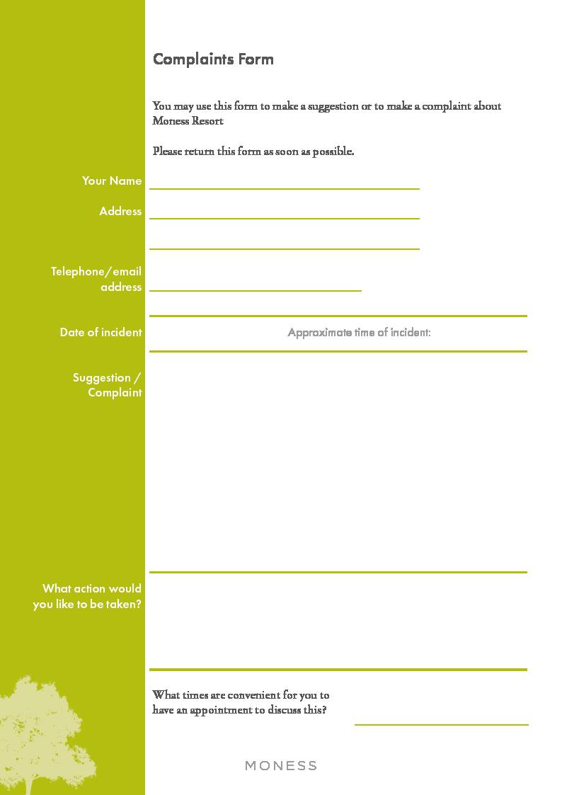 Complaints Form-2021